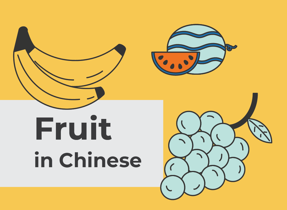 Fruits in Chinese   Learn Chinese Vocabulary with NihaoCafe