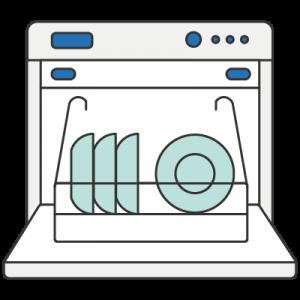 house appliances Kòngtiáo 洗碗机 dishwasher chinese nihaocafe