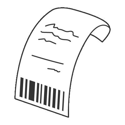 shopping money | Xiǎo piào 小票 Receipt | chinese nihaocafe